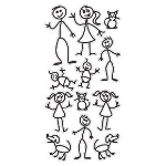 family decal kit